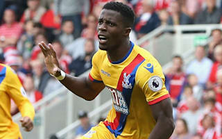Zaha deserves England call up - Pardew