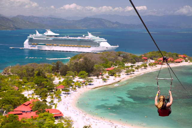 Places you can only see if you're on a cruise