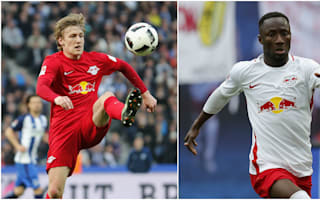Leipzig will not let 'top performers' Forsberg and Keita leave