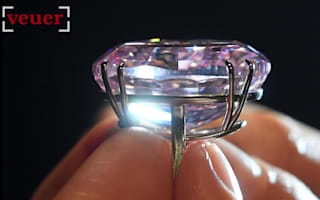 World's most valuable pink diamond up for auction