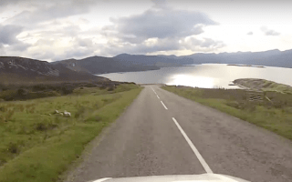 Scotland's Route 66 named top coastal road trip