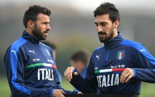 Astori replaces injured Barzagli in Italy squad