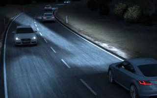 Audi showcases its 'matrix' headlights in new video