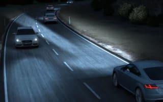 Audi showcases its 'matrix' headlights in new video