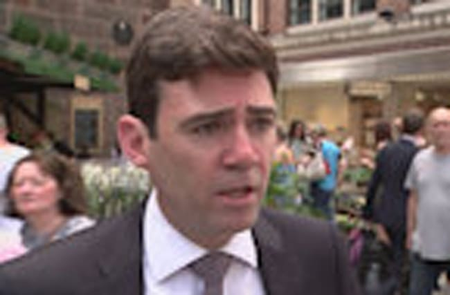 Burnham calls leaking US officials 'arrogant'