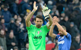 We need our feet on the ground - Buffon not thinking about treble