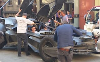 New Batmobile spied driving around Burbank