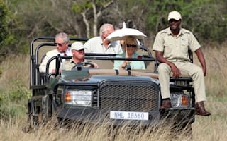 Out of Africa: Prince Charles and Camilla go on safari