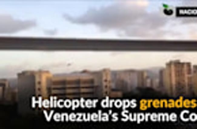Helicopter attacks Venezuela's Supreme Court