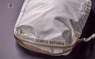 Neil Armstrong's lunar bag is worth a fortune