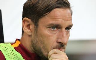Spalletti: I don't know Totti's future plans