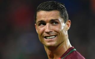 Albania's hero Sadiku defends 'best player in the world' Ronaldo