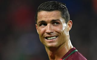 Albania's hero Sadiku defends 'best player in the world' Ronaldo