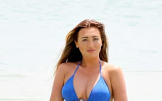 Lauren Goodger hits the beach on holiday in Tenerife with Jake McLean