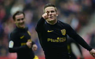 Sporting Gijon 1 Atletico Madrid 4: Stunning Gameiro hat-trick snatches victory