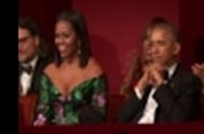 Obama pays tribute to Kennedy Center Honorees