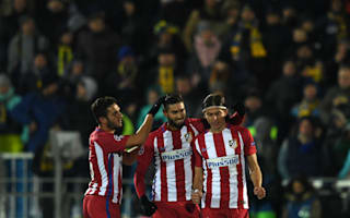 Rostov 0 Atletico Madrid 1: Carrasco decisive to end hosts' unbeaten run