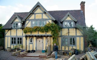 Elizabethan-style home built from scratch - for £200,000