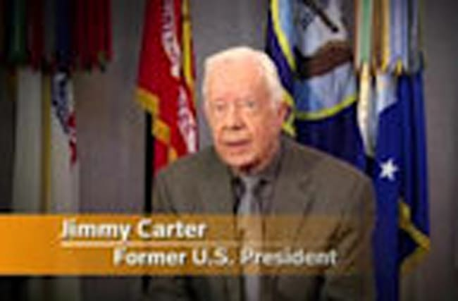 """Carter: """"Clinton has my support"""""""