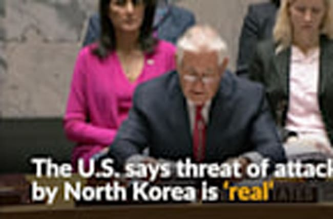 U.S. urges U.N. to act 'before North Korea does'