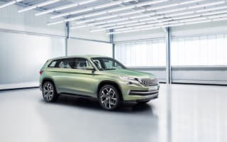 Skoda confirms its first foray into the large SUV market