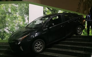 Car driver gets stranded on steps after taking wrong turn