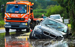 It's wet, wet, wet - so take care on the roads, urges IAM