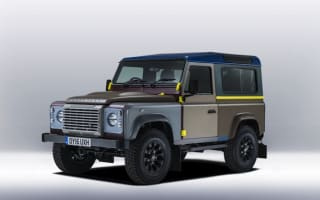 Paul Smith creates one-off Land Rover Defender