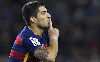 Golden Shoe and Pichichi Trophy not distracting Suarez - Luis Enrique