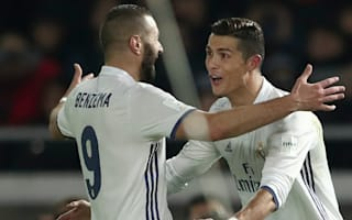 Zidane wants more from Ronaldo and Benzema