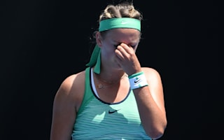 Azarenka withdraws due to injury, Stephens rolls on