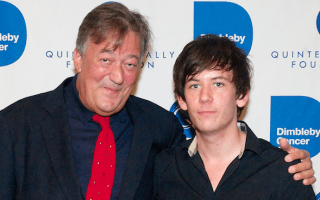 Stephen Fry's fiancé banned from driving