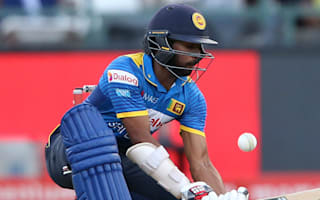 Dickwella to miss rest of ODI series with fractured hand