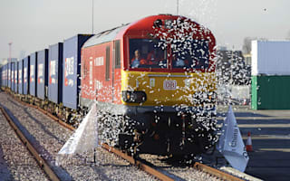 Silk Road revived as first freight train from China arrives in London