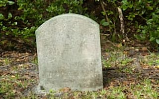 A property with a grave downside