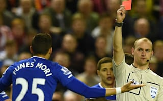 Carragher slams 'embarrassing' Funes Mori after derby red