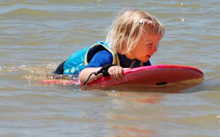 Girl, 4, floats half a mile out to sea after falling asleep on boogie board