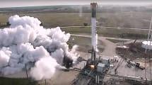 Mira cómo el Falcon 9 pasa la prueba de fuego de SpaceX