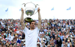 Murray eyes Wimbledon glory after historic Queen's triumph