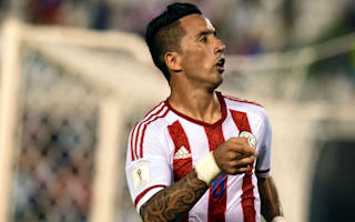 Barrios overlooked by Paraguay for Copa America