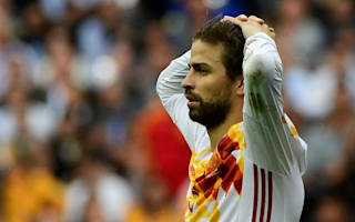 Spain not up to required level - Pique
