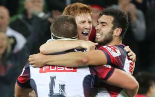 Defiant Rebels shock Brumbies, Barrett inspires Hurricanes win