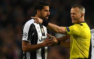 Juventus star Khedira to miss first leg of Champions League semi-final