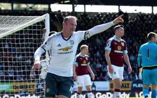 Burnley 0 Manchester United 2: Rooney makes goalscoring return in Ibrahimovic's absence