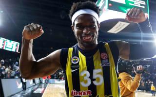 Fener prevail in high-scoring derby, Zalgiris stun Olympiacos