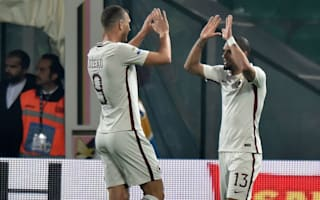 Palermo 0 Roma 3: Visitors back to second as Dzeko hits 30th goal