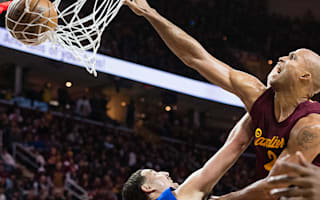LeBron impressed by monster dunk from '95-year-old' team-mate