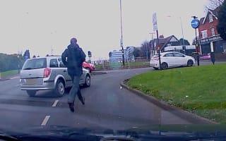 Motorist chases down fleeing driver after Birmingham crash