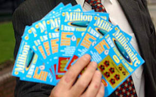 Man spends £80,000 on scratchcards - and wins nothing