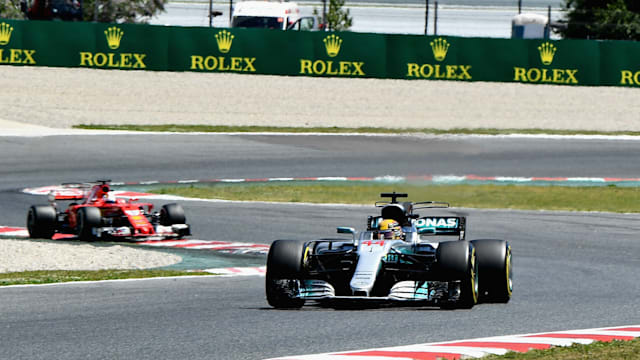 Hamilton edges Vettel in Spanish GP thriller